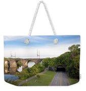 The Kelly Drive Rock Tunnel Weekender Tote Bag
