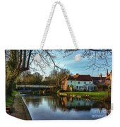 The Kennet And Avon Canal At Sulhamstead Weekender Tote Bag