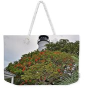 The Key West Lighthouse Weekender Tote Bag