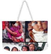 The Kids Of India Collage Weekender Tote Bag