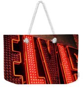 The King Quote Weekender Tote Bag