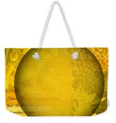 The Kingdom Of God Is Like A Mustard Seed Weekender Tote Bag