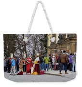The Kings Of The Democracy. Prague Castle. Prague Spring 2017 Weekender Tote Bag