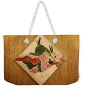 The Kiss 8 - Tile Weekender Tote Bag