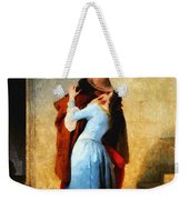 The Kiss Of Hayez Revisited Weekender Tote Bag