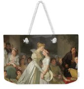 The Kiss Of Protection By The Local Chatelaine  Weekender Tote Bag