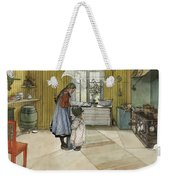 The Kitchen. From A Home Weekender Tote Bag
