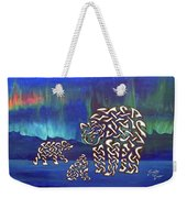 The Knotty Polar Bears Weekender Tote Bag
