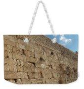 The Kotel - Western Wall In Jerusalem Weekender Tote Bag