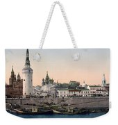 The Kremlin Towards The Place Rouge In Moscow - Russia - Ca 1900 Weekender Tote Bag