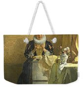 The Lace Maker  Weekender Tote Bag