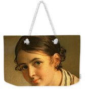 The Lacemaker Weekender Tote Bag