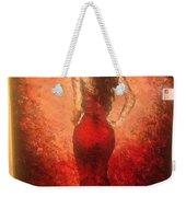 The Lady In Red Weekender Tote Bag