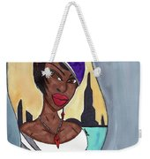 The Lady Of The City Weekender Tote Bag