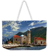 The Lady Of The Rocks Weekender Tote Bag