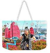 The Lady Pirate Weekender Tote Bag