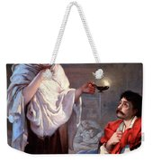 The Lady With The Lamp, Florence Weekender Tote Bag by Science Source