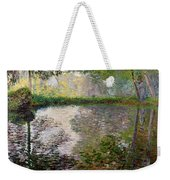 The Lake At Montgeron Weekender Tote Bag