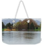 The Lake View  Weekender Tote Bag