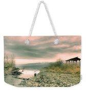 The Lake Walker Weekender Tote Bag
