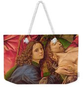 The Lamentation Of Christ Weekender Tote Bag