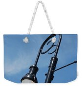 The Lamp Post Weekender Tote Bag