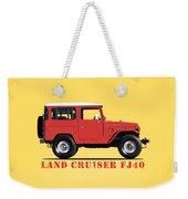 The Land Cruiser Fj40 Weekender Tote Bag