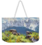 The Land Of Chief Joseph Weekender Tote Bag