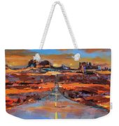 The Land Of Rock Towers Weekender Tote Bag