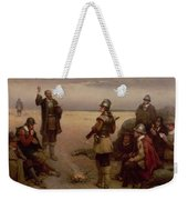 The Landing Of The Pilgrim Fathers Weekender Tote Bag