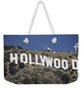 The Landmark Hollywood Sign Weekender Tote Bag