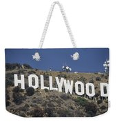 The Landmark Hollywood Sign Weekender Tote Bag