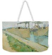 The Langlois Bridge Weekender Tote Bag