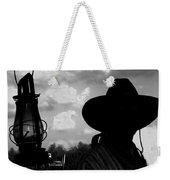 The Lantern On The Trail Weekender Tote Bag