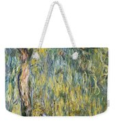The Large Willow At Giverny Weekender Tote Bag