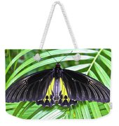 The Largest Butterfly In The World Weekender Tote Bag