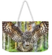 The Largest Owl Weekender Tote Bag