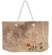 The Last Blossom Weekender Tote Bag