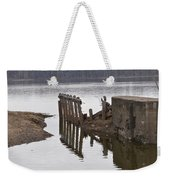 The Last Concrete Wall Weekender Tote Bag