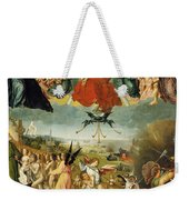 The Last Judgement Weekender Tote Bag by Jan II Provost