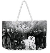The Last Moments Of President Lincoln Weekender Tote Bag by Photo Researchers