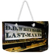 The Last Of The Last Weekender Tote Bag