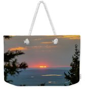 The Last Of The Sunset Weekender Tote Bag