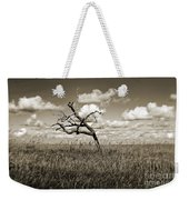 The Last One Standing - Sepia Weekender Tote Bag