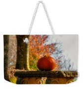 The Last Pumpkin Weekender Tote Bag