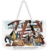 The Last Resort. Weekender Tote Bag