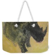 The Last Rhino Weekender Tote Bag