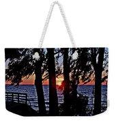 The Last Sun Weekender Tote Bag