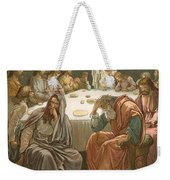 The Last Supper Weekender Tote Bag by John Lawson