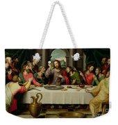 The Last Supper Weekender Tote Bag by Vicente Juan Macip